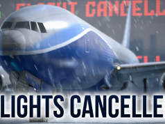 Flight Cancellations with the Approaching Hurricane Florence