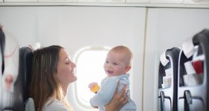 stress-free air travel with children