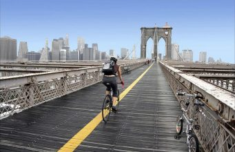 Best Places to bike in New York City, Popular bike trails near New York City, Brooklyn Bridge Park