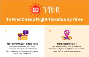 Tips to find cheap flights anytime