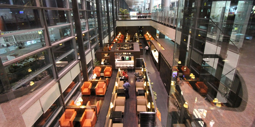 International Departures Plaza Premium Lounge, Hyderabad
