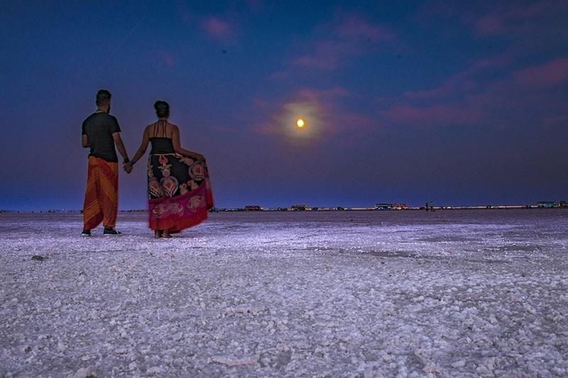 Full Moon Day in Rann Utsav