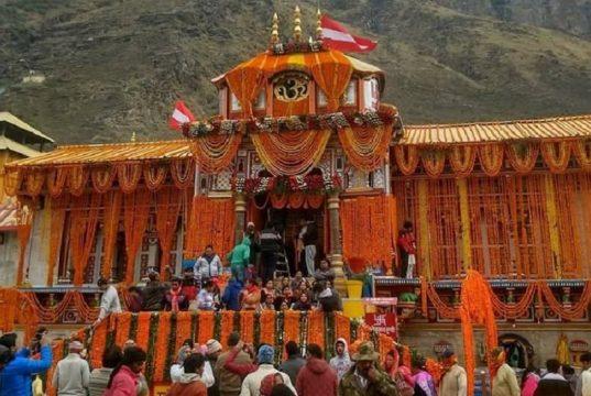 Badrinath shrine will reopen on April 30, 2020