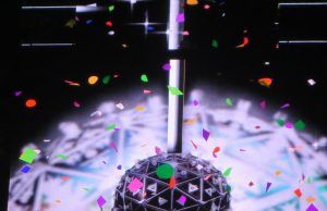 New Year Eve's Ball Drop