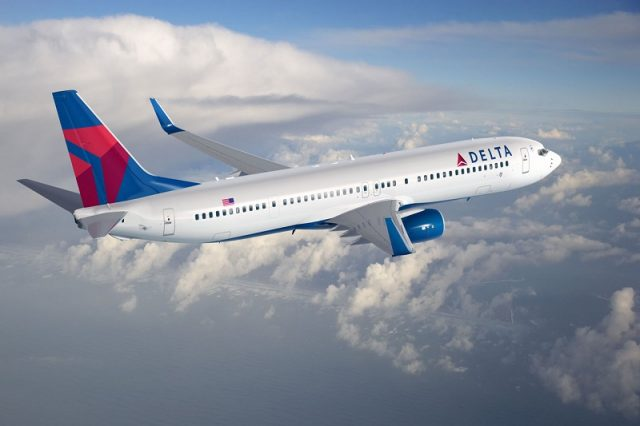 delta airlines to block the middle seats through april 2021