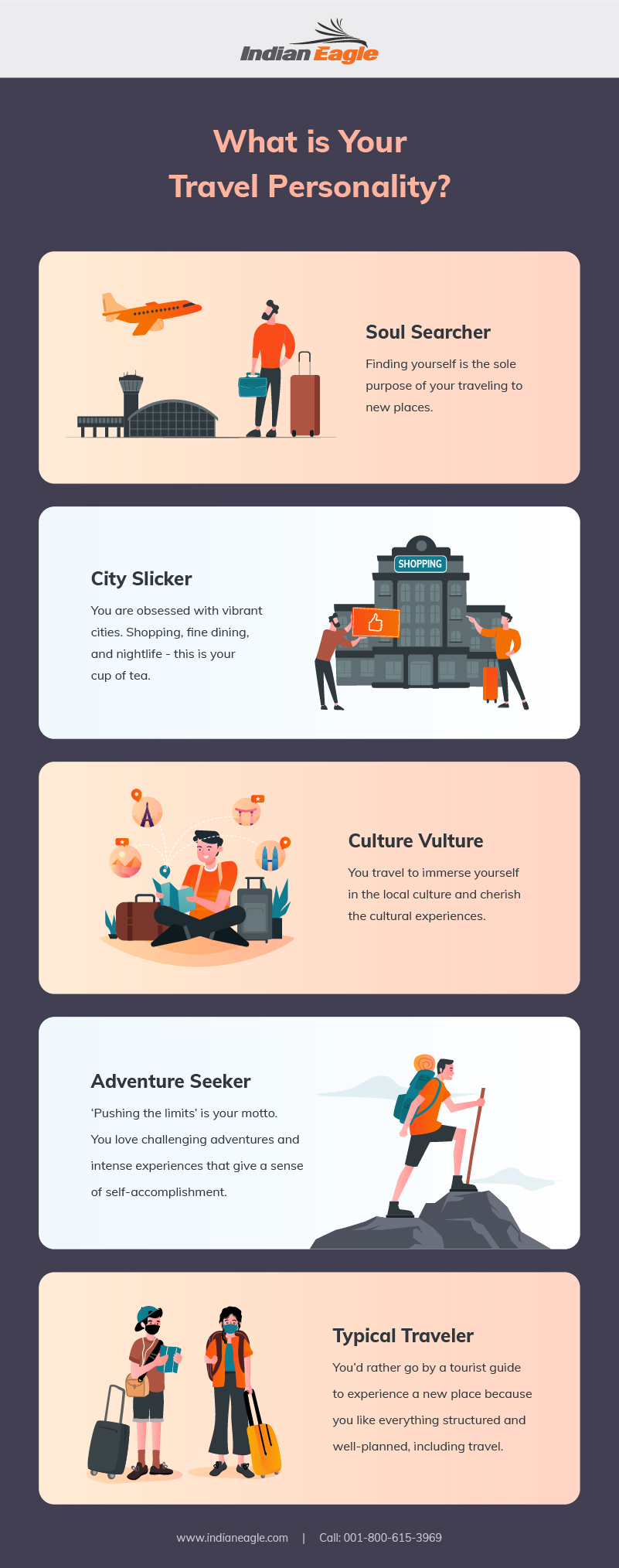 5 Types of Travel Personalities: What Kind Of Traveler Are You?