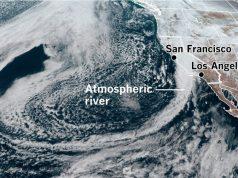 California's atmospheric river