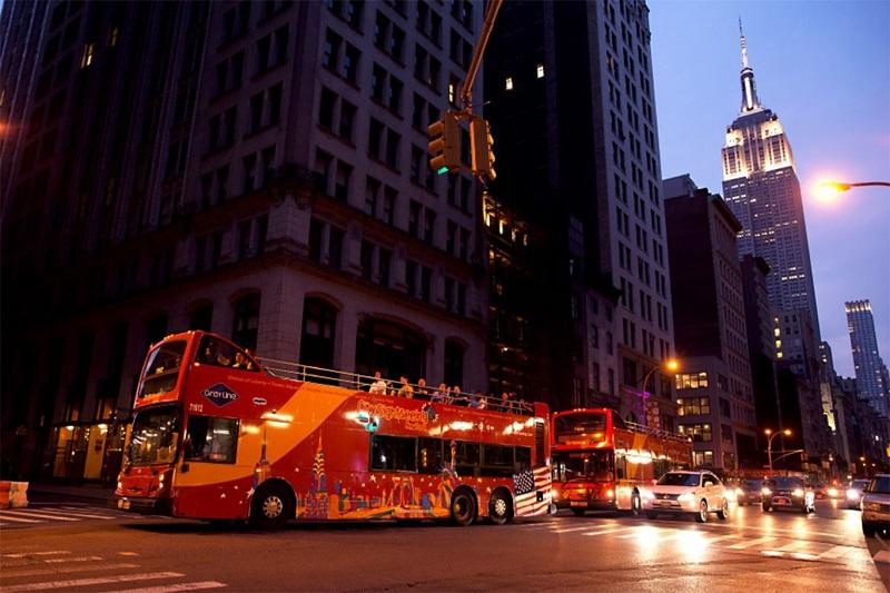 Night Bus Tour NYC